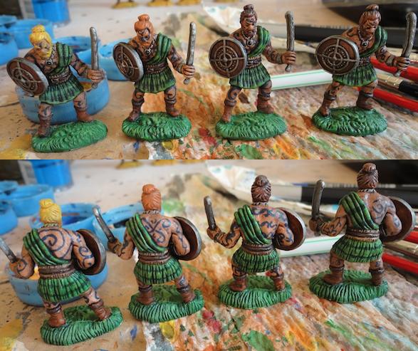 Peindre les chevaliers de la table ronde aux bonnes - Expose sur les chevaliers de la table ronde ...